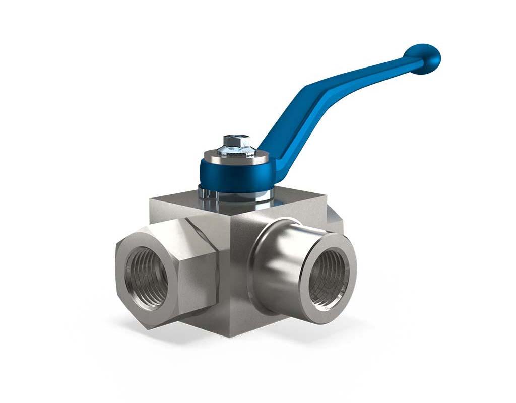 MHA ZENTGRAF BK3-S Selector ball valve, steel