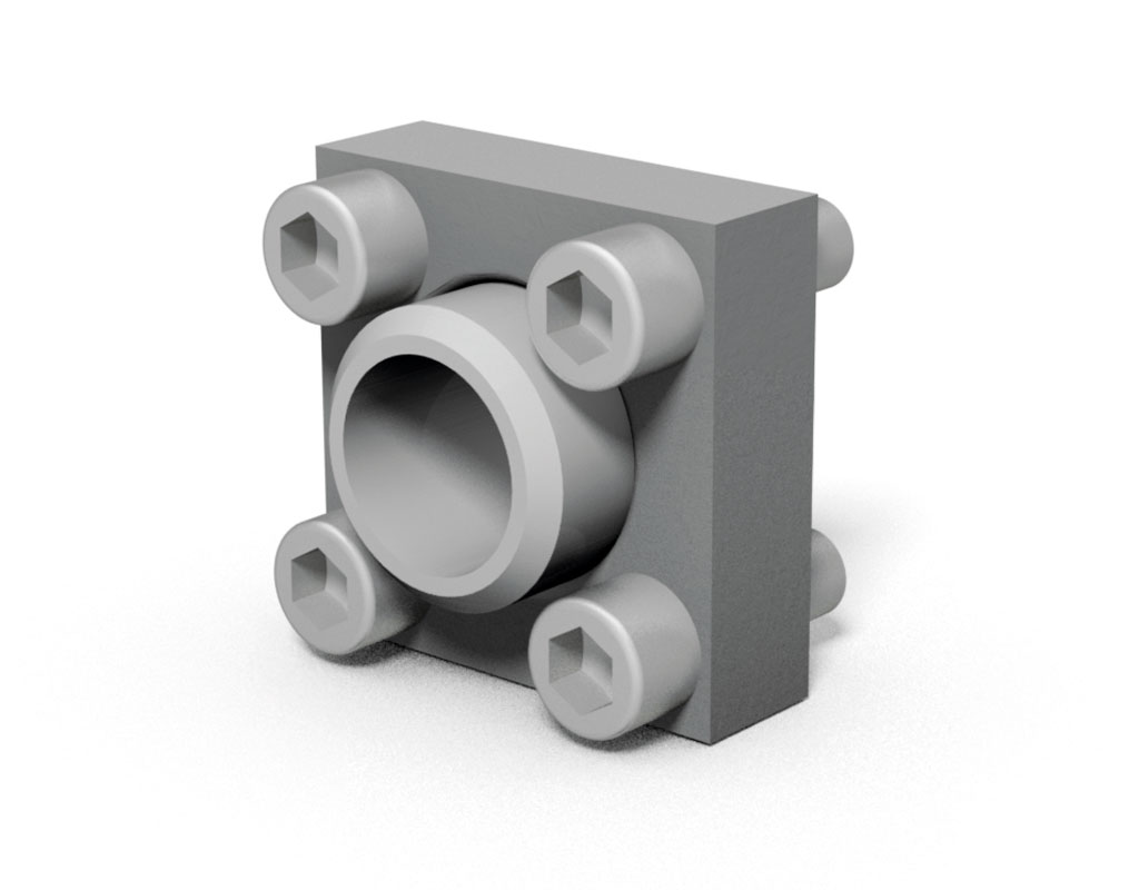 Iso connection flanges