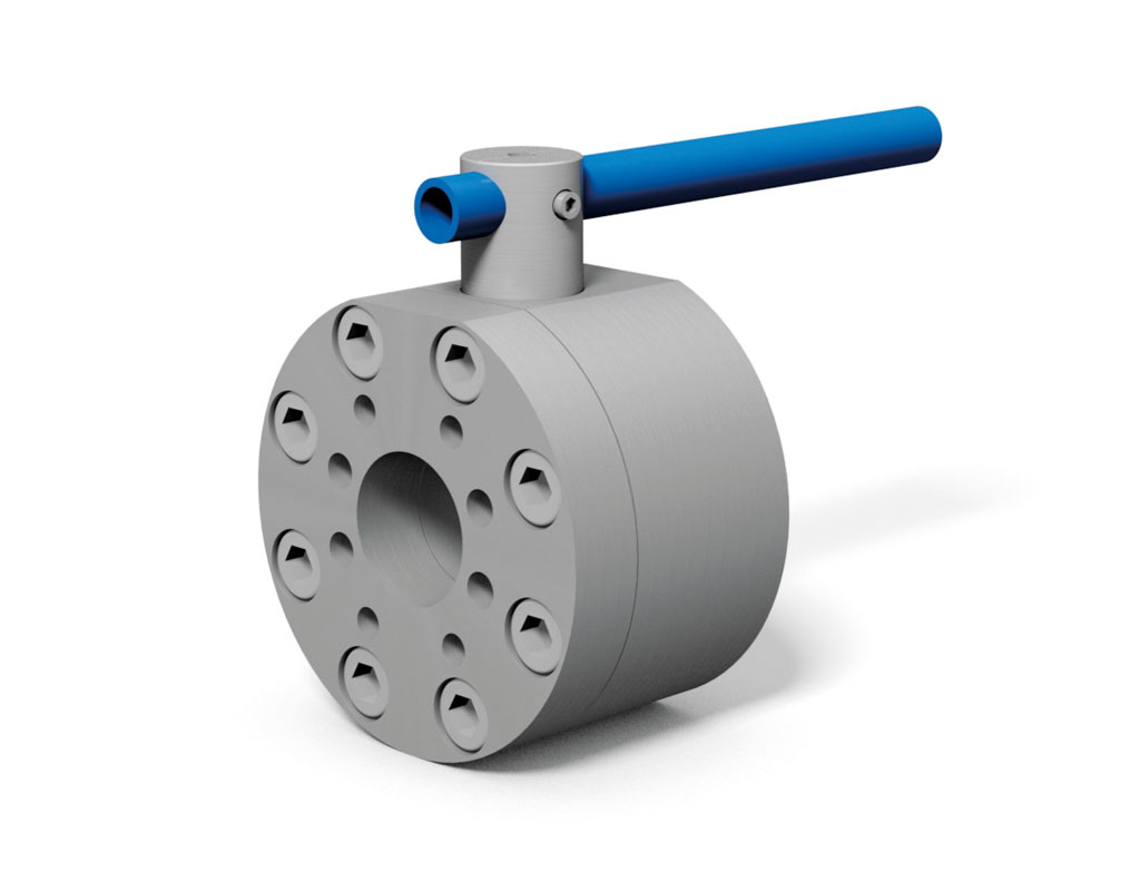 KH-SAE - 2-way flange ball valve with SAE connection metric / UNC ...