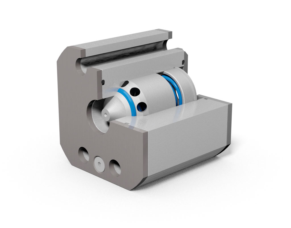 MHA ZENTGRAF RVZ-SAE Check valve with SAE adapter, steel / stainless steel