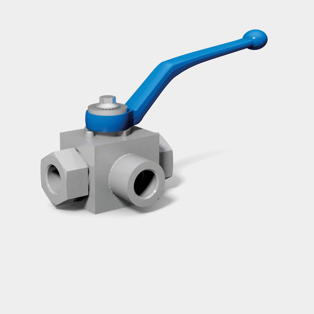 Multiway ball valves