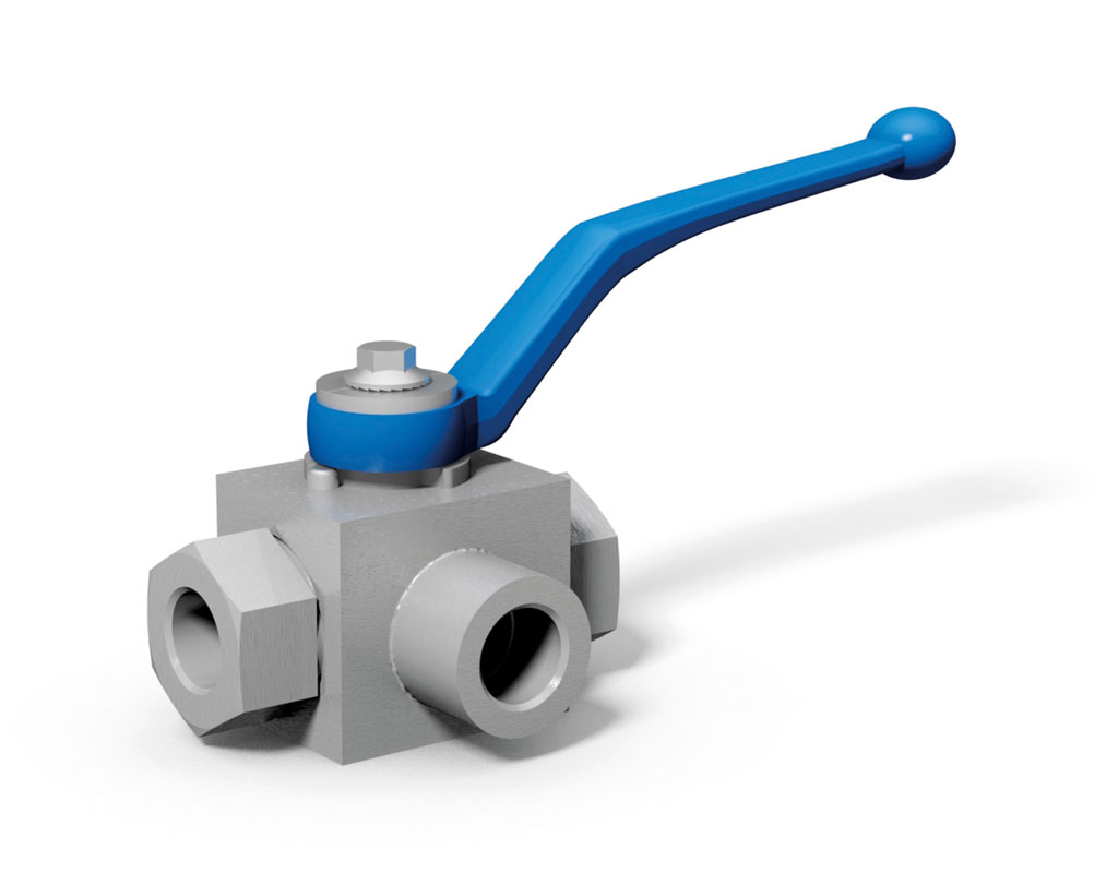 Multiway ball valve