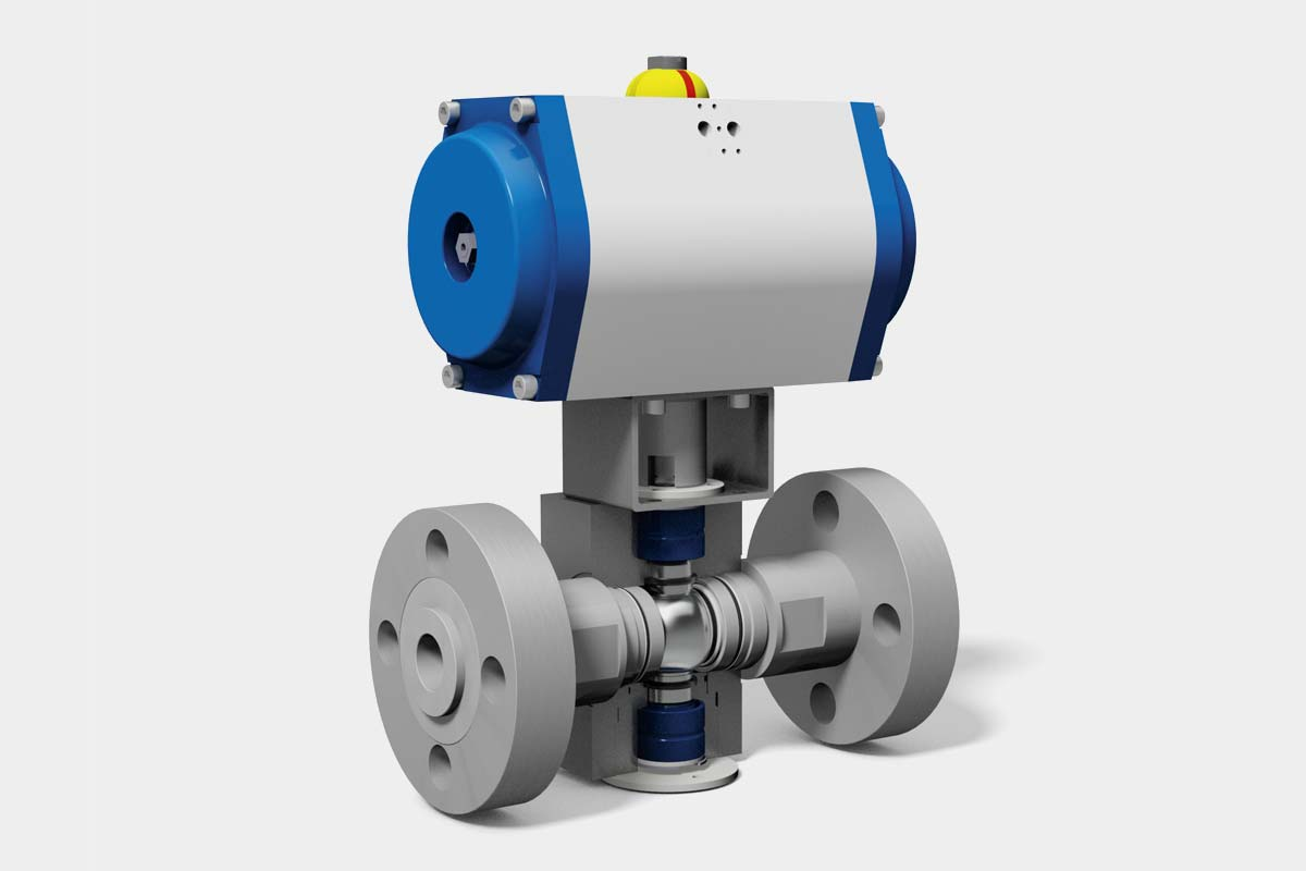MHA ZENTGRAF highest pressure ball valve