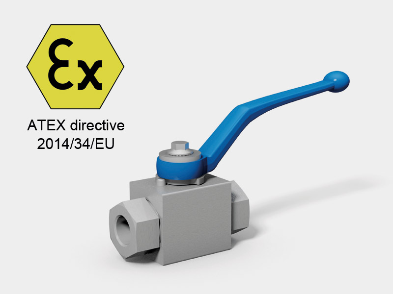 Classification change for ball valves acc. ATEX directive 2014/34/EU