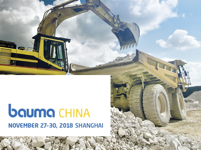 MHA ZENTGRAF at bauma China fair 2018 in Shanghai